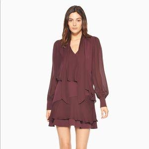 Parker Mauve Wine Dress